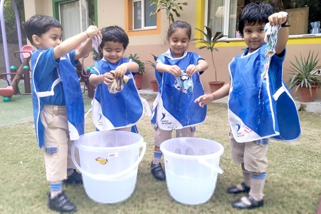 Global Hand Washing Week – Handkerchief Washing